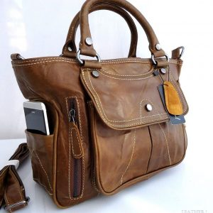 leather woman bag