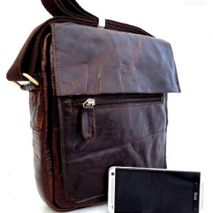 full Leather Shoulder Bag