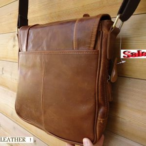 Leather man RETRO cross Shoulder Messenger BAG best vintage classic TOP