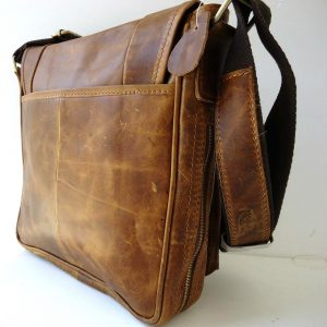 Leather man RETRO Style Shoulder Messenger bag