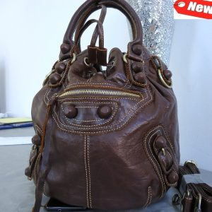 full leather woman bag