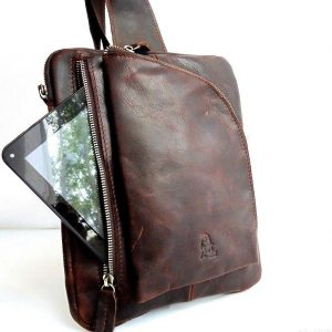 LEATHER BAG FASHION MEN PURSE WAIST