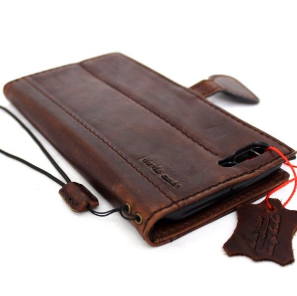 leather slim case FIT for iphone 7 plus