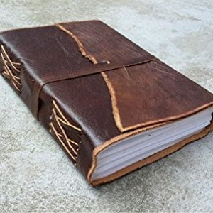 Handcrafted Leather Book